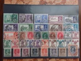 EX COLONIE INGLESI - INDIA - Lotto Timbrati + Spese Postali - 1936-47  George VI