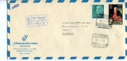 Spagna (1975) - Busta Per La Germania - 1971-80 Storia Postale