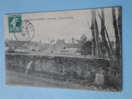 AULNAY La RIVIERE  (Loiret) -- Panorama - Vue Prise Du Pont - Carte PEU COURANTE !! - France