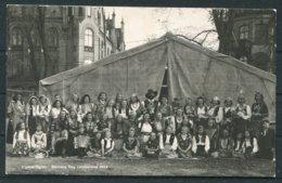 1944 Sweden Barnens Dag Landskrona Zigenarlagret Postcard. - Sweden