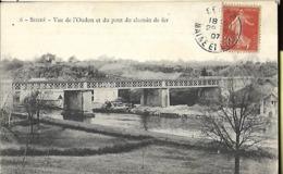 Segré    Vue De L' Oudon Et Du Pont De Chemin De Fer - Segre