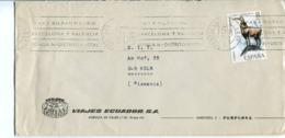 Spagna (1972) - Busta Per La Germania - 1931-Hoy: 2ª República - ... Juan Carlos I