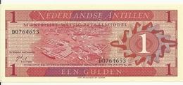 ANTILLES NEERLANDAISES 1 GULDEN 1970 UNC P 20 - Antille Olandesi (...-1986)
