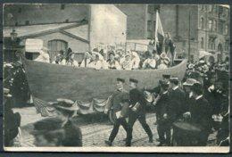 1906 Sweden Barnens Dag Parade Stockholm Postcard. - Sweden