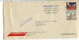 Spagna (1971) - Busta Per La Germania - 1931-Hoy: 2ª República - ... Juan Carlos I
