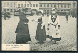 Sweden Barnens Dag Parade Stockholm Postcard. - Schweden