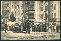1905 Sweden Barnens Dag Parade Goteborg Postcard. - Sweden