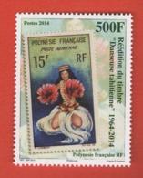 W41 Polynésie ** 2014 Réédition Timbre - Polynésie Française