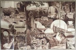 Luxembourg Brochure 63/41 Cm. - Dépliants Touristiques