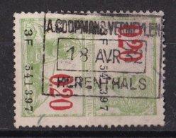 België - Fiscale Taxen - A. Coopmans-Vermeylen - Herenthals - Steuermarken