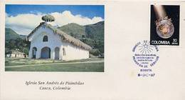 Lote 1734F, Colombia, 1987, SPD-FDC, Navidad, Christmas - Colombia