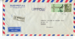 Spagna (1973) - Busta Per La Germania - 1931-Oggi: 2. Rep. - ... Juan Carlos I