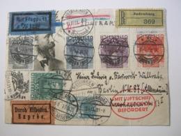 1931 , Zeppelinkarte Mit Sehr Guter Frankatur - Briefe U. Dokumente