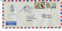 Spagna (1973) - Busta Per La Germania - 1931-Hoy: 2ª República - ... Juan Carlos I