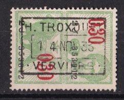 België - Fiscale Taxen - H. Troxquet - Verviers - Steuermarken
