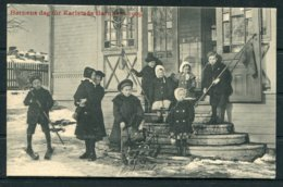 1909 Sweden Barnens Dag Karlstad Postcard. - Schweden