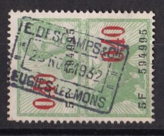 België - Fiscale Taxen - E.Deschamps & Cie - Eugies Lez Mons - Revenue Stamps