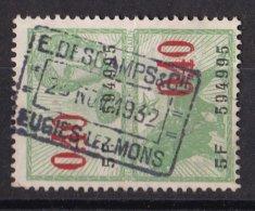 België - Fiscale Taxen - E.Deschamps & Cie - Eugies Lez Mons - Steuermarken