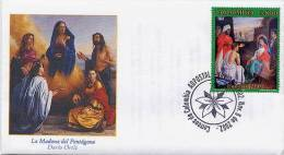 Lote 2311F, Colombia, 2002,  SPD-FDC, Navidad, Christmas - Colombia