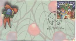 Lote 2453F, Colombia, 2007,SPD-FDC, Christmas, Navidad - Colombia