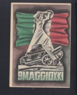 Cartolina Per Le Forze Armate 9. Maggio - Postwaardestukken