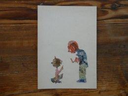 Stamp Art, Postzegelkunst, Postcard - Timbres