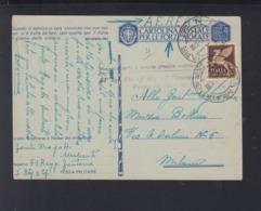 Cartolina Per Le Forze Armate Aerea 1942 - 1900-44 Victor Emmanuel III