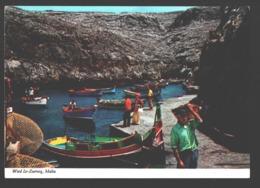 Wied Iz-Zurrieq - Scene With Fisher Men - Malte