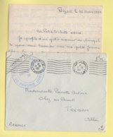 Tunisie - Bizerte - 13-3-1951 - Base De Transit Militaire De Tunis - Tunesien (1888-1955)