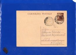 ##(DAN1911)-27-5-1947-Cartolina Postale L.3 Da San Giovanni A Teduccio (Napoli) Per Napoli - 6. 1946-.. Repubblica