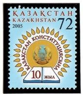 Kazakhstan 2005 .  Constitution-10. 1v: 72.   Michel # 507. - Kazakistan
