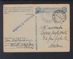 Cartolina  Per Le Forze Armate 1943 (7) - Postwaardestukken