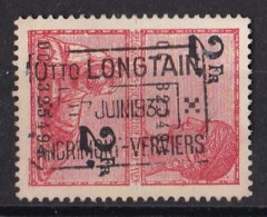 België - Fiscale Taxen - Otto Longtain - Andrimont-Verviers - Revenue Stamps