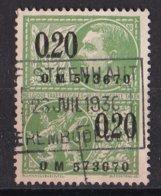 België - Fiscale Taxen - F. Steenhaut - Erembodegem - Revenue Stamps