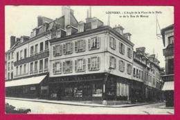 CPA Louviers - L'angle De La Place De La Halle Et De La Rue De Matrey - Louviers