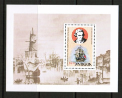 ANTIGUA  Scott # 547-51** VF MINT NH INCLUDING Souvenir Sheet (SS-426) - 1960-1981 Ministerial Government