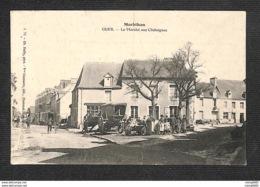 56 - GUER - Le Marché Aux Châtaignes - Guer Coetquidan