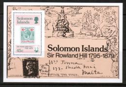 SOLOMON ISLANDS  Scott # 393-6** VF MINT NH INCLUDING Souvenir Sheet (SS-427) - Solomon Islands (1978-...)