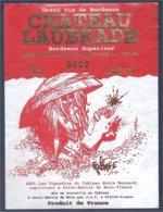 étiquette De Vin: Château Laubrade 2000 (Cromwell) - Fumetti