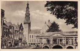 204745Leiden,   Achterzijde Stadhuis Met Korenbeurs - Leiden