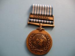 Médaille Américaine Guerre De Corée 1954 - Estados Unidos