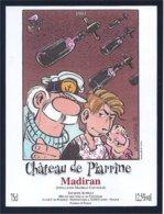 étiquette De Vin: Château De Piarrine Madiran 1993 - (Serge Carrère 1995) - Fumetti