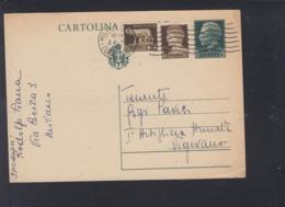 Cartolina Milano A Posta Militare - 1900-44 Victor Emmanuel III