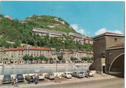 GRENOBLE - Téléphérique De La Bastille Et Bâtiments Universitaires - Voiture : Citroen DS - 2CV - Peugeot 403 - Grenoble