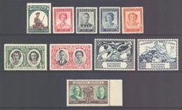 Southern Rhodesia Scott 64/73 - SG61/70, 1943-1950 Issues Complete MH* - Zuid-Rhodesië (...-1964)