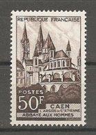 1580- Timbre N° 917 ** T.B., Abbaye Aux Hommes Caen - France