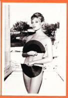 Art077 BRIGITTE BARDOT B.B Erotique EVENTAIL Cache-sexe Pin-up Vadim Tournage 1957 - HAZAN PARIS 1990 MAGIE NOIRE 6225 - Chanteurs & Musiciens
