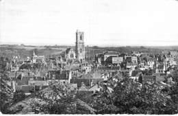 58 - CLAMECY Vue Générale - CPSM Village ( 5.500 Habitants ) Dentelée N/B/ Format CPA 1971 - Nièvre ( Bourgogne Morvan ) - Clamecy