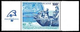 POLYNESIE 1989 - Yv. 336 ** Avec Vignette  Faciale= 0,84 EUR - Révolution Française. Bateau 'Bounty'  ..Réf.POL24568 - Neufs