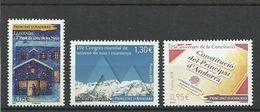 ANDORRA LOS 3 PRIMEROS SELLOS CORREO FRANCES 2018 ( S.5A.C.03.18) - Unused Stamps